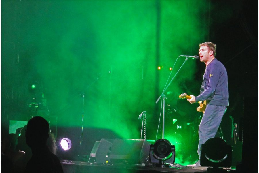 Damon Albarn is singing his heart and guitar riffs out at Demon Days Festival