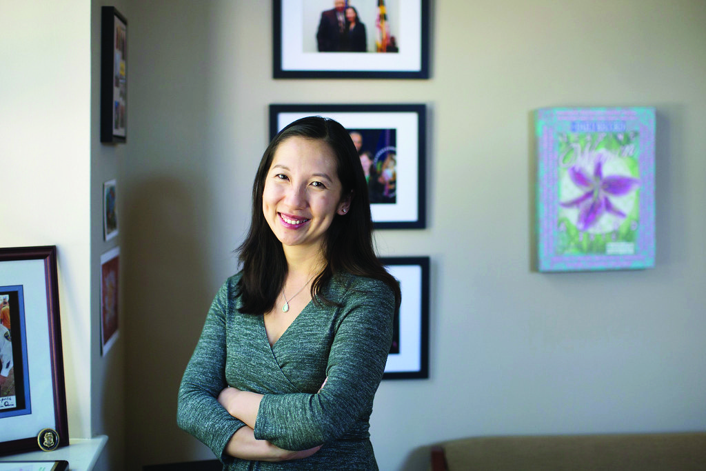Leana Wen, Cal State LA alumna, is president of Planned Parenthood. Courtesy of Governing Magazine