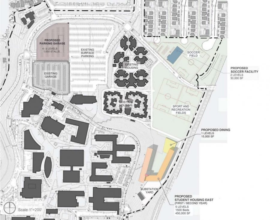 North Campus Project Conceptual Plan Figure 2