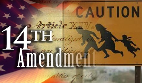 Illustration for the 14th Amendment