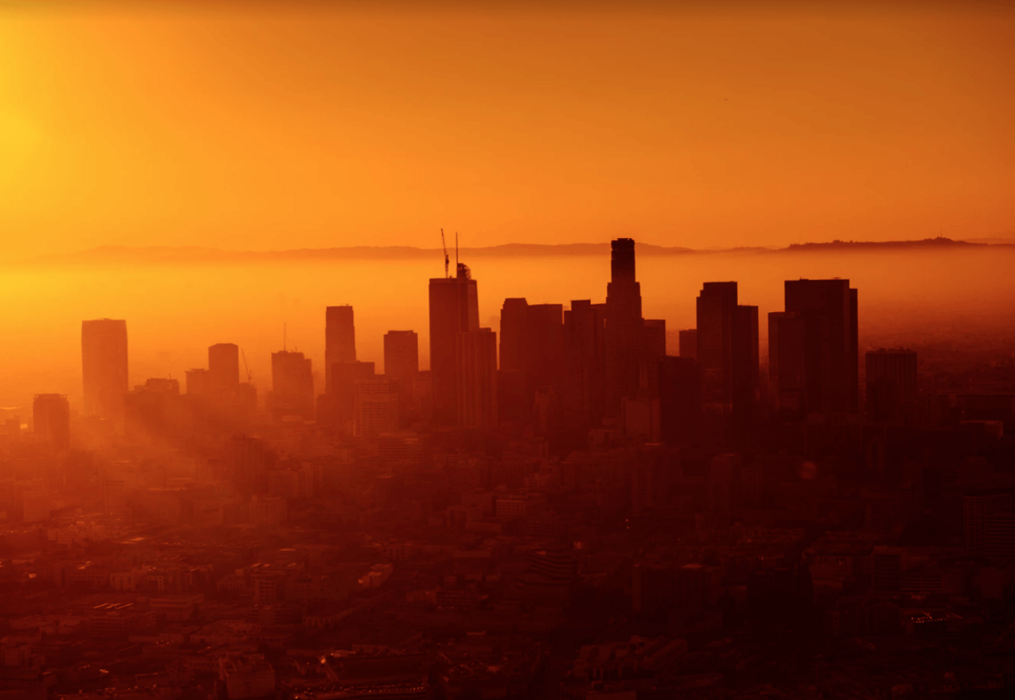 View of downtown LA from the Eastside (By Josh Rose via Unsplash)