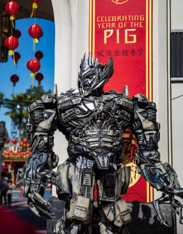Universal Studios Celebrates Lunar New Year