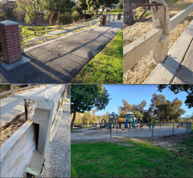 A walk through Eagle Rock recreation center and park reveals areas that can be improved. (Chris Lazaro/Community News)
