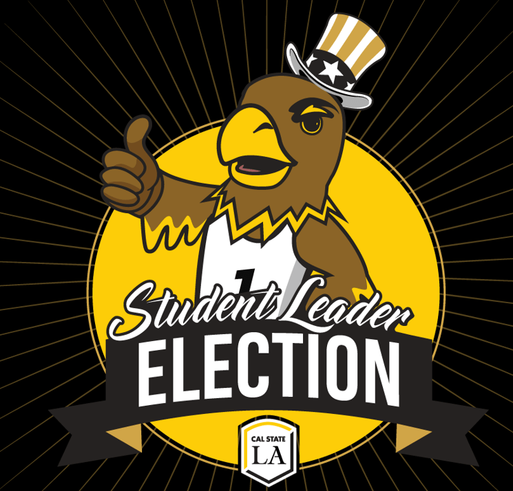 ASI+student+leader+election+logo+with+Eddie+the+Golden+Eagle.