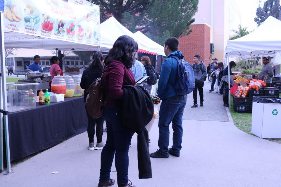 The Farmer's Market is back on campus
