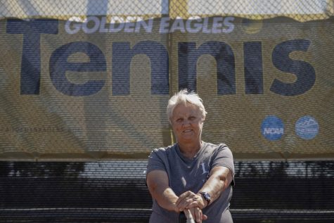 Sandy Kriezel, a coach with the Golden Eagle Tennis organization will be retiring soon after spending 10 years with the team.