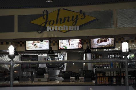 Inside view of Johny's Kitchen