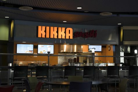 Inside view of Kikka Sushi