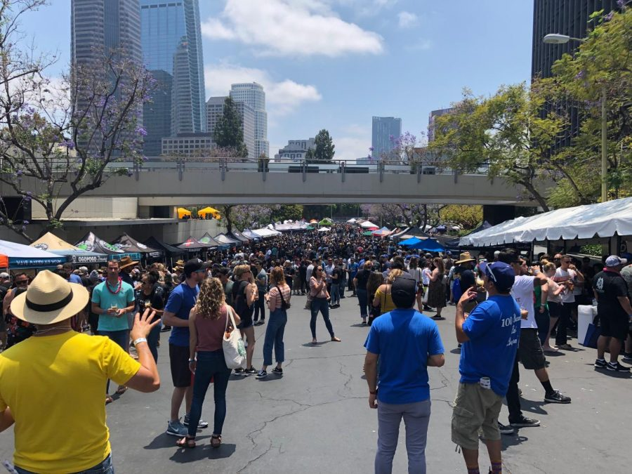 In the heart of Downtown L.A., the Kickoff Event featured more than 200 beers from over 90 local independent breweries.
