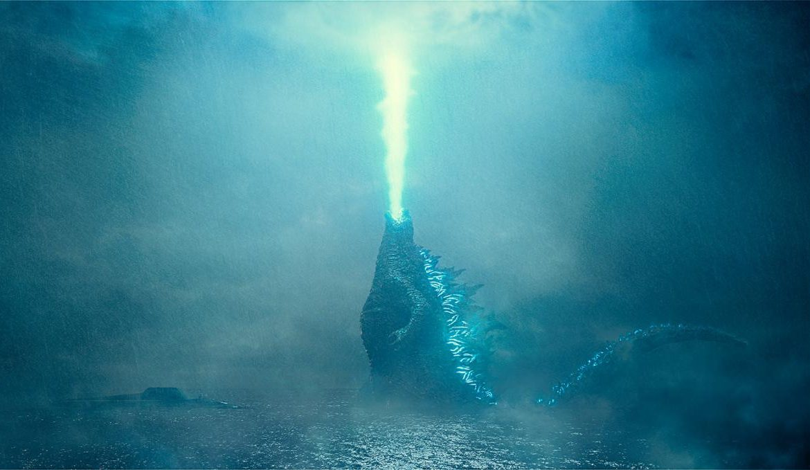 Press release of Godzilla: King of the Monsters, property of Warner Brothers