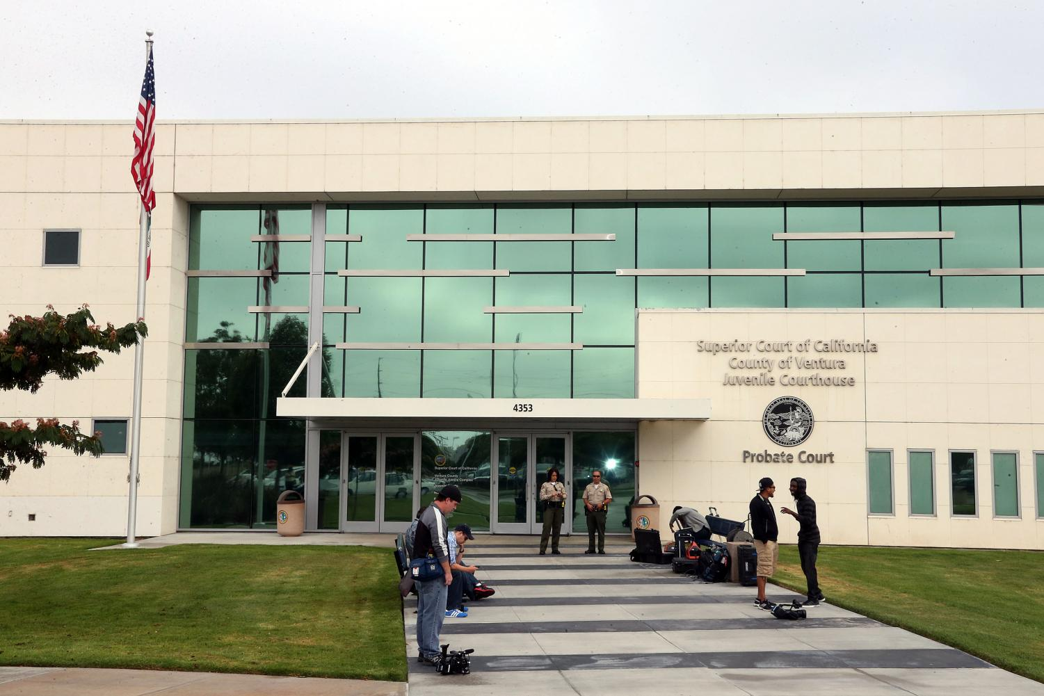 Exterior view of the Ventura County courthouse in Oxnard, California