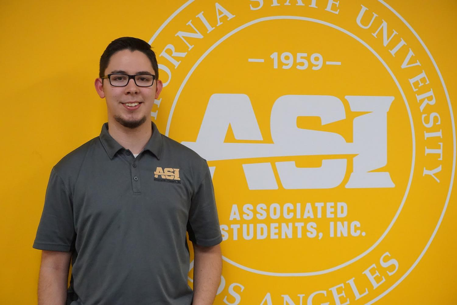 Aaron Castaneda, the ASI President for the 2019-2020 term.