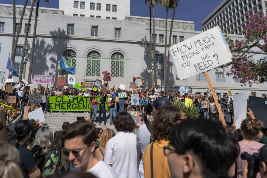 Friday%2C+thousands+of+youth+marched+the+streets+of+Los+Angeles+to+City+Hall+where+they+protested+climate+change+in+light+of+the+UN+Climate+Action+Summit+taking+place+this+weekend.