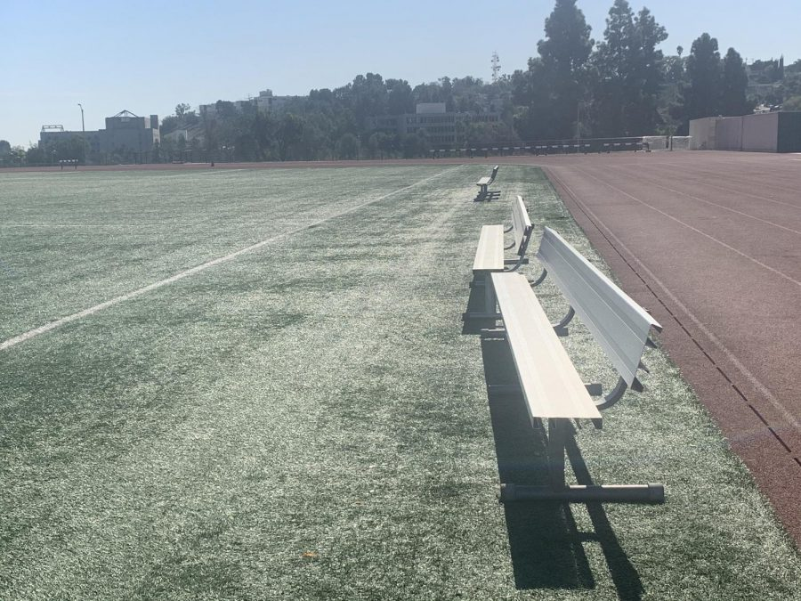 Men and women's soccer games were cancelled on October 31st, 2019 due to the recent wildfires.