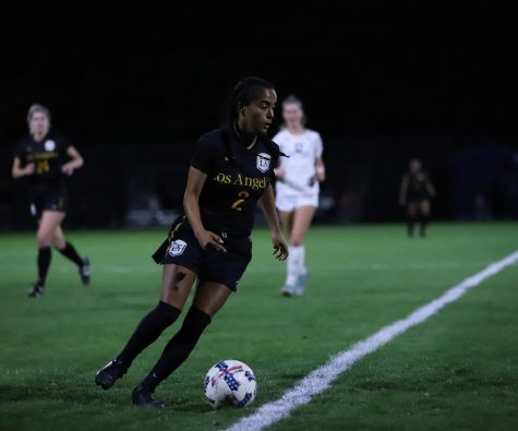 In an away game, Cal State LA women's soccer loses against Cal State Monterey Bay 0-1.