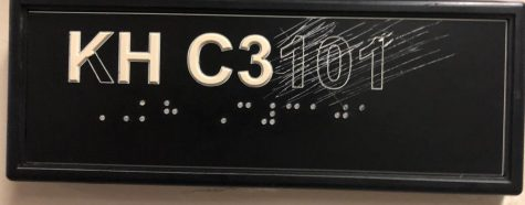 Braille Signs On Campus Vandalized