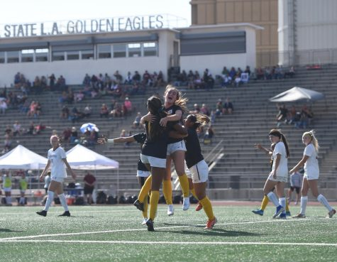 Cal State LA women's soccer team defeats Chico State 1-0.