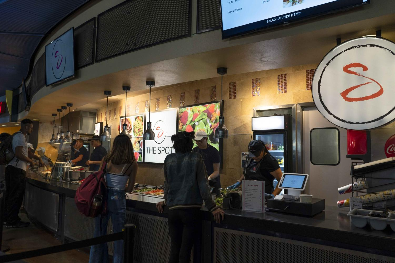 The Spot, a new dining option at the food court, has been a recent popular choice for food for students. The Spot is located in between Kikka Sushi and Johny's Kitchen.