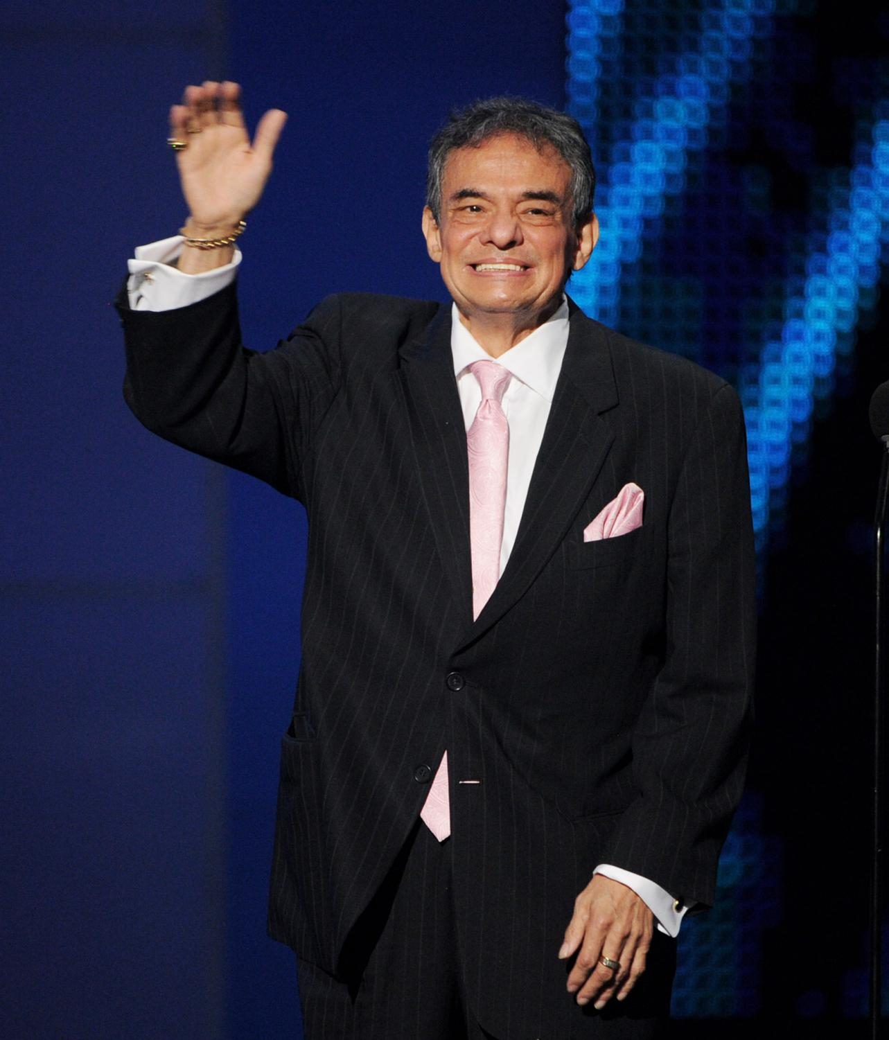 Jose Jose at the Billboard Mexican Music Awards in 2012.