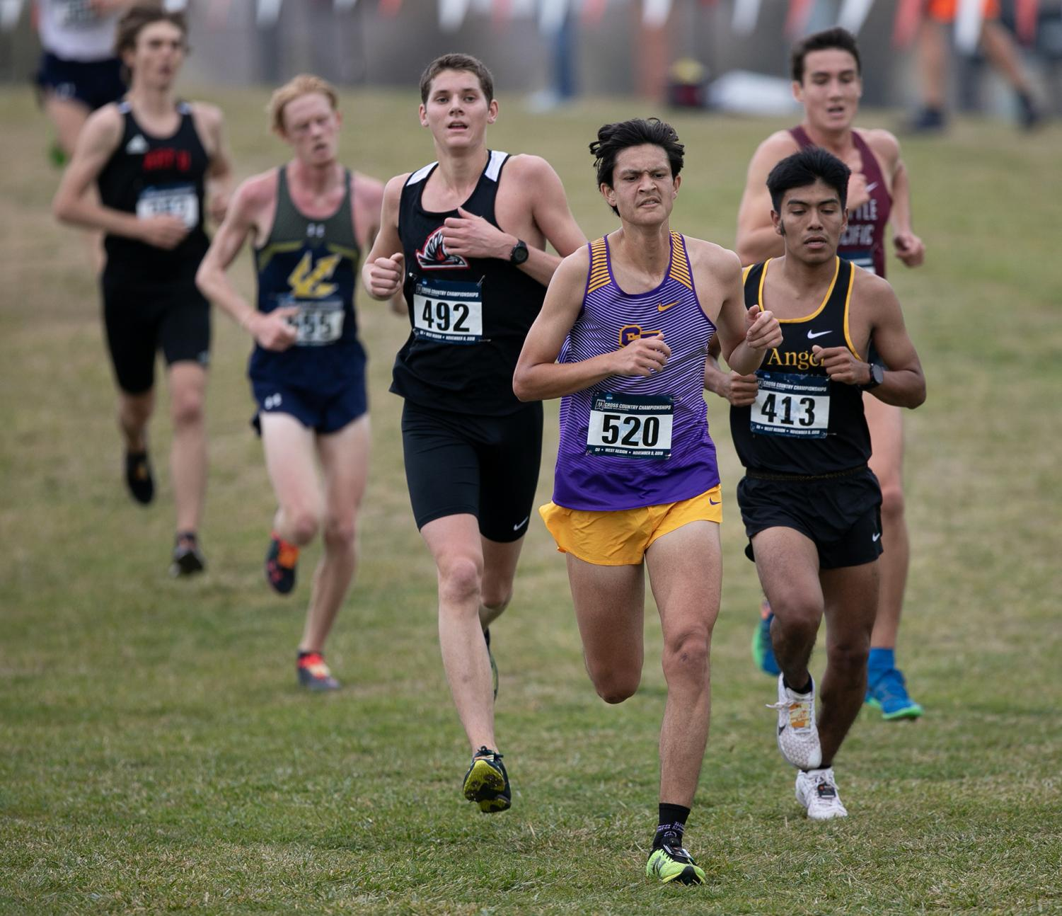 Cal State LA men's cross country finished 21st overall with 546 points total.