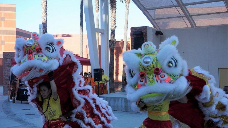 The performance team is the only female-led lion dance team in all Southern California