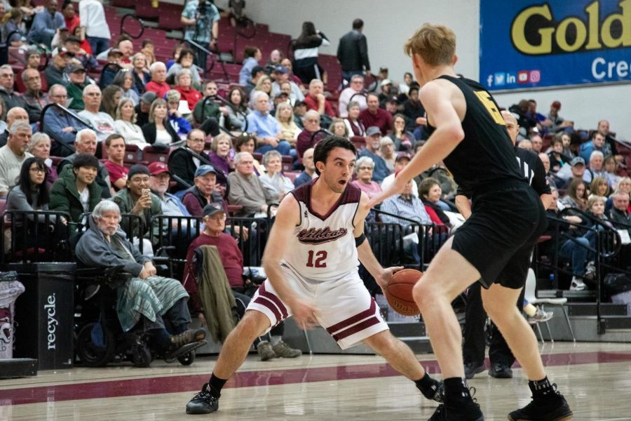 Cal State LA men's basketball team loses against Chico State in a game of 62-87.