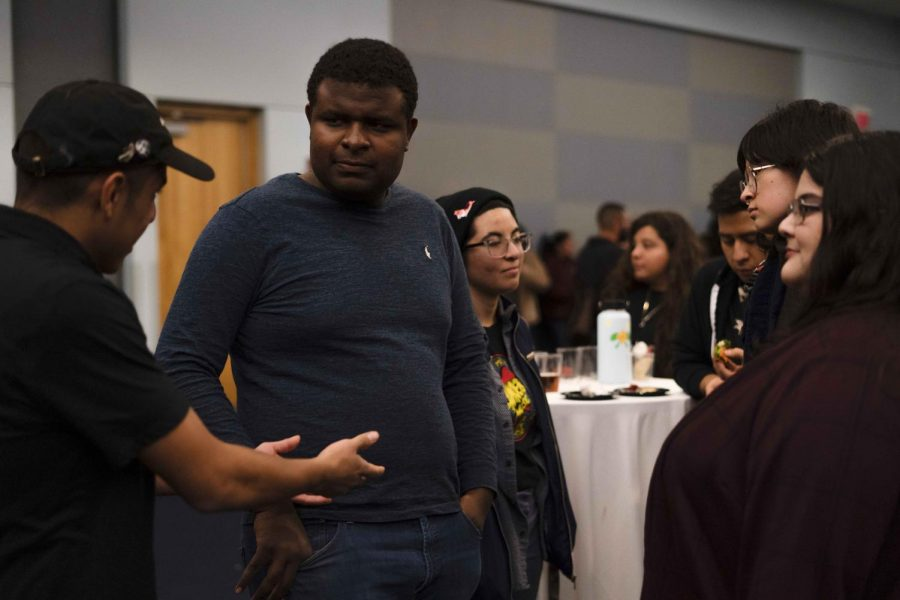 . All was not quiet in the Golden Eagle Ballroom last Wednesday with the City of Orgs Mixer bringing together students to mingle and explore organizational opportunities on campus.