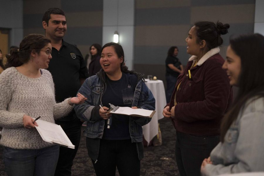 Last Wednesday, the City of Orgs Mixer brought students and organizations together which was hosted by the Center for Student Involvement in the Golden Eagle Ballroom.