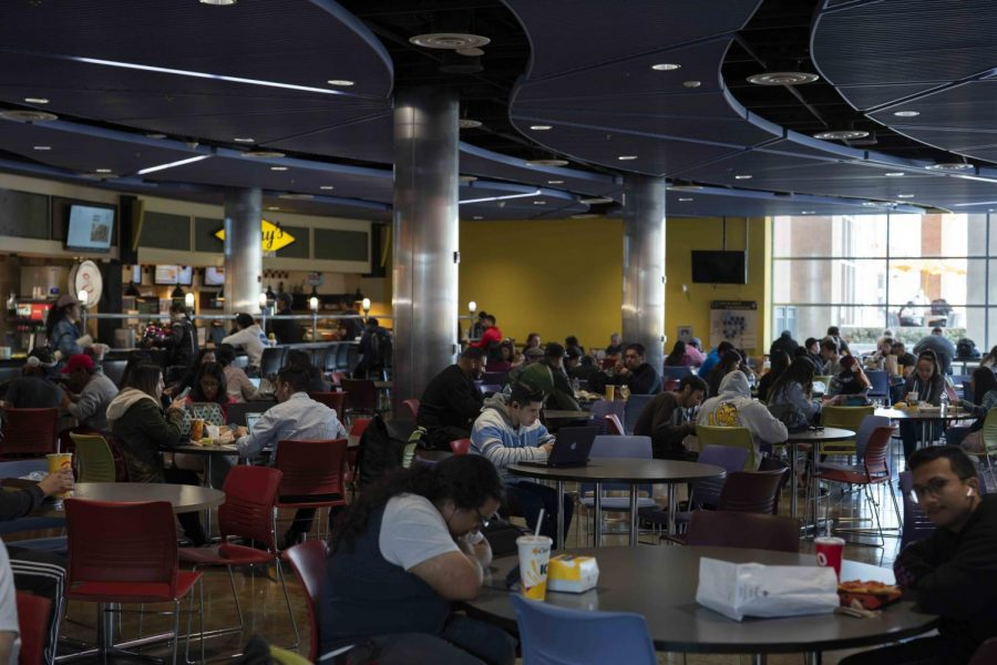 How food services on campus are being affected thus far