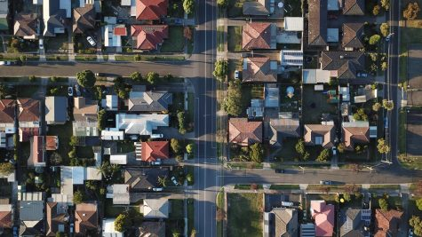 Caption: A neighborhood in Melbourne, Australia pictured from above before the sunset. Tom Rumble/Unsplash