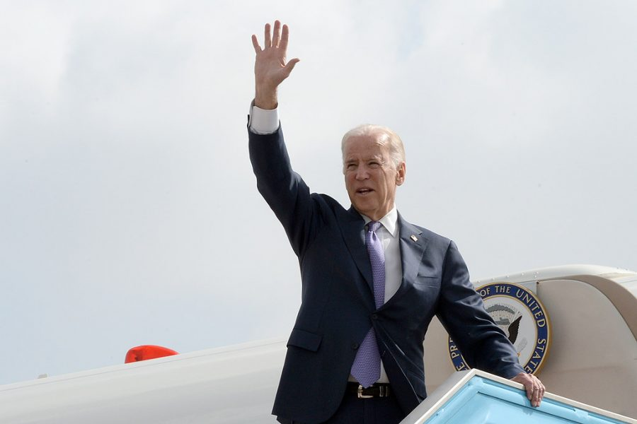 Joe Biden signed 17 executive orders on his first day of his office as president of the United States. Image from Flickr and Creative Commons 2.0.