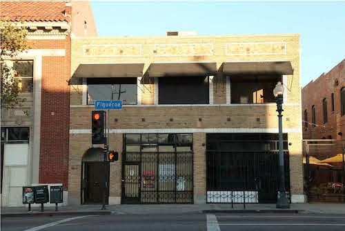 Photo of 5605-5607 N. Figueroa St., where the nomination for the Historic-Cultural Monument for the Centro de Arte Publico is located. Photo courtesy of the Los Angeles Department of City Planning in a