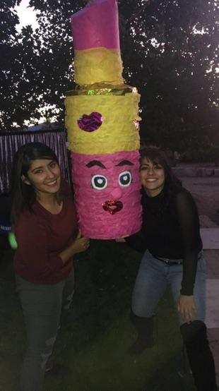 The last birthday party I shared with my sister. Photo courtesy of Stephanie Medina