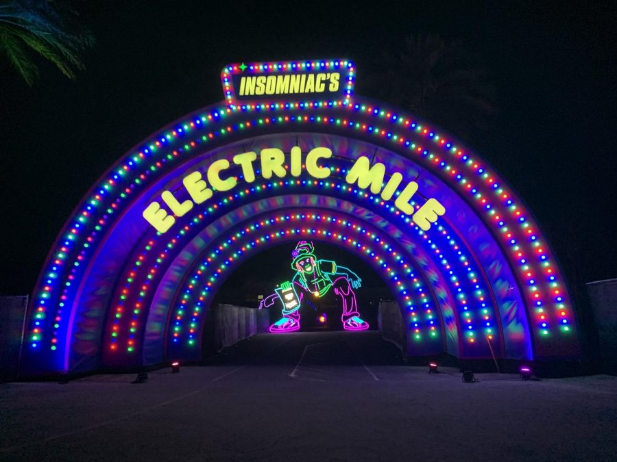 neon sign that says electric mile