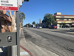 A road with a building along it - Tweety Blvd. (Oscar Torres/UT)