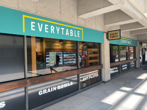 Photo shows the outside of Everytable.