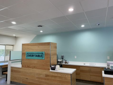 Photo shows the counter of the second EveryTable location.