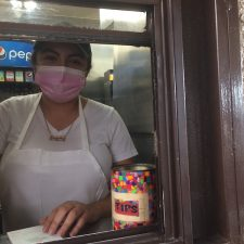 Jacqueline works the window at Al & Bea's, a sixty-five year old restaurant in Boyle Heights