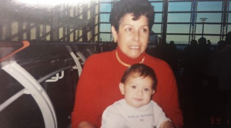 My grandmother and myself, September of 1999. (Michelle Leon _ UT)