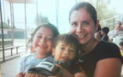 My mom, brother and myself in 2006